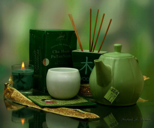 green tea enhances memory